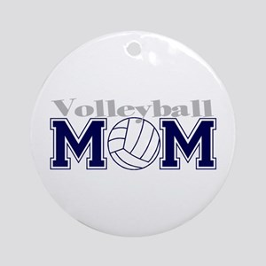 Volleyball Mom II Ornament (Round)