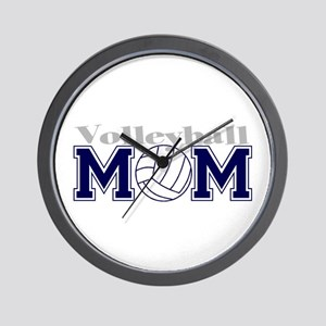 Volleyball Mom II Wall Clock