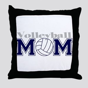 Volleyball Mom II Throw Pillow