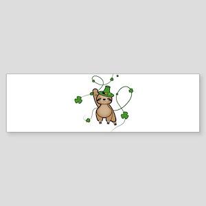 March Sloth Bumper Sticker