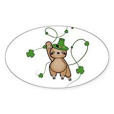 March Sloth Sticker