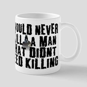 Kill a Man Mug