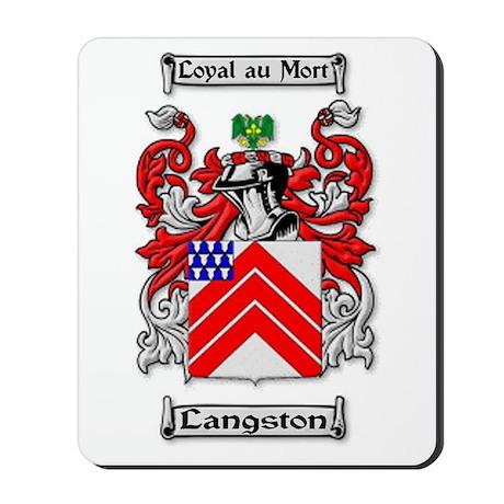 Langston Ancestry Mousepad