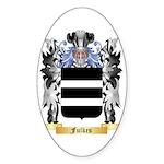Fulkes Sticker (Oval 50 pk)