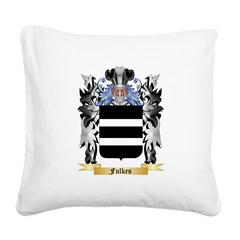 Fulkes Square Canvas Pillow