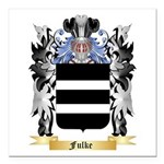 Fulke Square Car Magnet 3