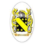 Fuljames Sticker (Oval 50 pk)
