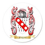 Fulgieri Round Car Magnet