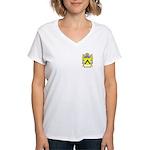 Fulep Women's V-Neck T-Shirt
