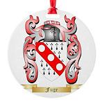 Fuge Round Ornament