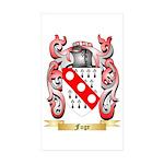 Fuge Sticker (Rectangle 50 pk)