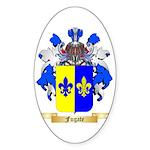 Fugate Sticker (Oval 50 pk)