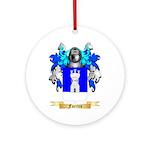 Fuertes Ornament (Round)
