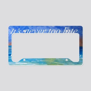 Beach inspiration License Plate Holder
