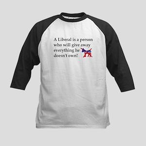 anti liberal give away Baseball Jersey