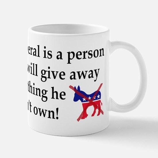 anti liberal give away Mugs