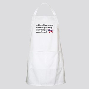 anti liberal give away Apron