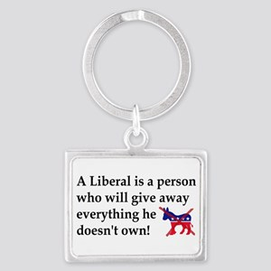 anti liberal give away Keychains