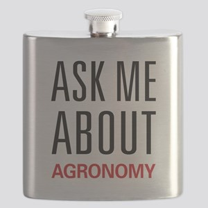 Ask Me About Agronomy Flask