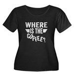 Where Is The Coffee Plus Size T-Shirt