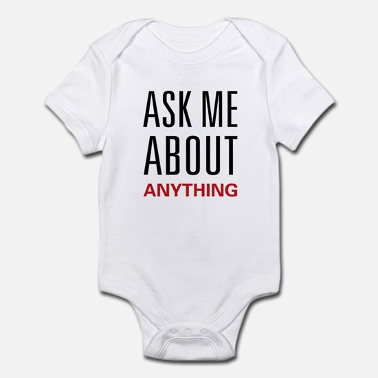 Ask Me Anything Infant Bodysuit