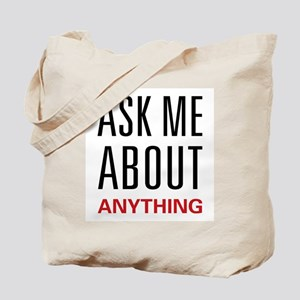 Ask Me Anything Tote Bag