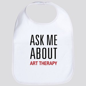 Ask Me About Art Therapy Bib