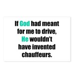 God/Chauffeurs Postcards (Package of 8)