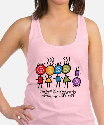 Same Only Different Racerback Tank Top