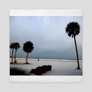 Siesta Keys Beach Queen Duvet