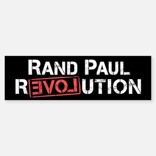 Rand Paul Revolution Bumper Bumper Bumper Sticker