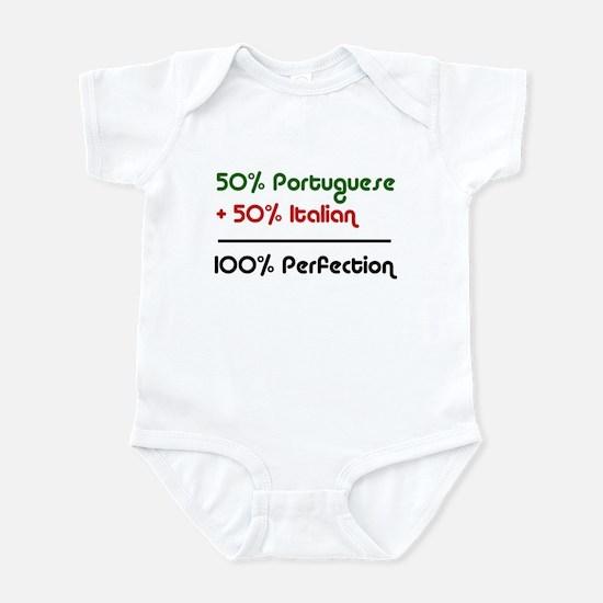 Half Italian, Half Portuguese Infant Bodysuit