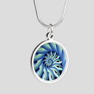 Illuminate Silver Round Necklace