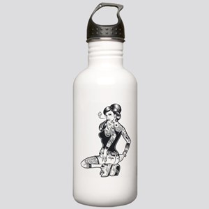 Pin Up Girl Stainless Water Bottle 1.0L