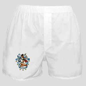 Pin Up Girl Boxer Shorts