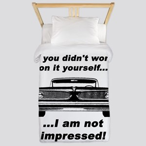 Im Not Impressed Twin Duvet Cover