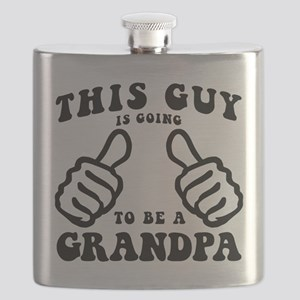 Going To Be A Grandpa Flask