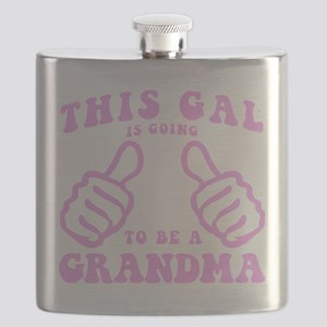 Going To Be A Grandma Flask