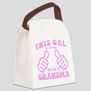 Going To Be A Grandma Canvas Lunch Bag
