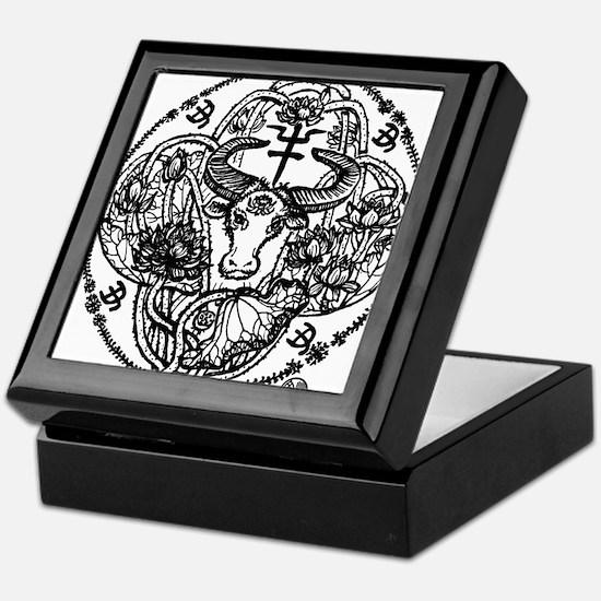 Chinese Zodiac – Ox Keepsake Box