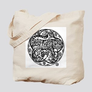 Chinese Zodiac – Tiger Tote Bag