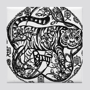 Chinese Zodiac – Tiger Tile Coaster