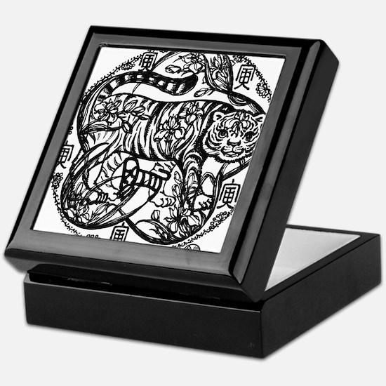 Chinese Zodiac – Tiger Keepsake Box