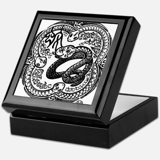 Chinese Zodiac – Snake Keepsake Box