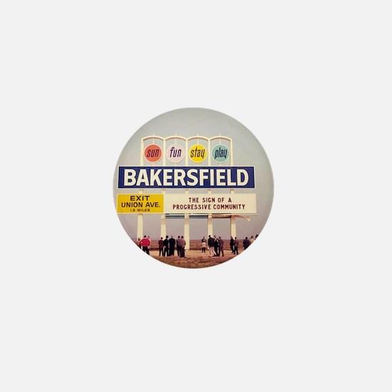 Bakersfield Sun Fun Stay Play Mini Button