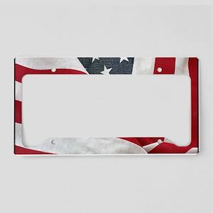 U.S. Flag: License Plate Holder