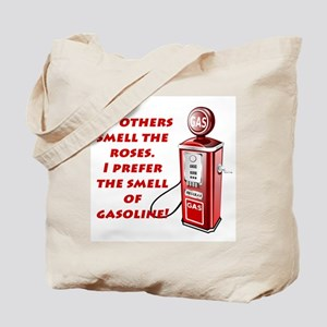 Smell of Gasoline Tote Bag