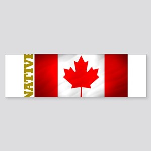 Canada Native Bumper Sticker