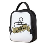 More Coffee Neoprene Lunch Bag