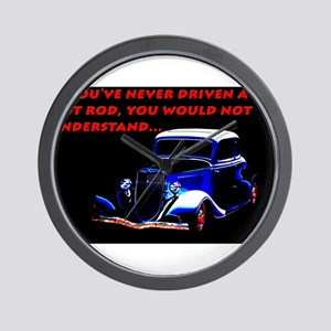 If Youve Never Driven Wall Clock